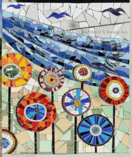muralismo en mosaico mosaico piedra mosaico