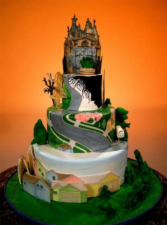 Edward Scissorhands Cake Topper