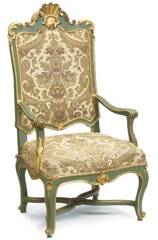 An Italian Rococo parcel gilt and paint decorated armchair mid 18th century   Bonhams  Italian FurnitureRetro FurnitureFurniture ChairsAntique. 1144 best chair images on Pinterest   Antique furniture  Furniture