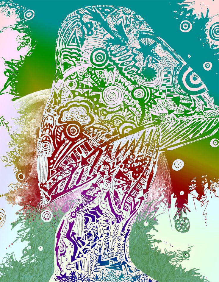#shrooms #drugs #mushys #trippy #art | Trippy | Pinterest ...