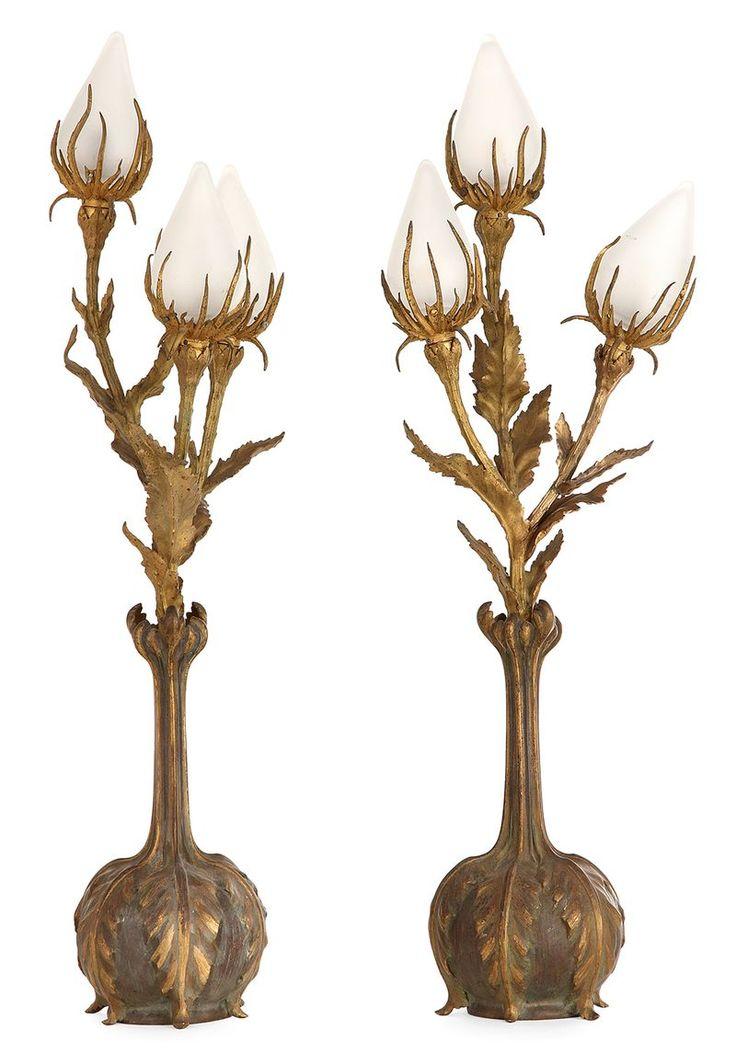 444 Best Art Nouveau Lighting Images On Pinterest Art