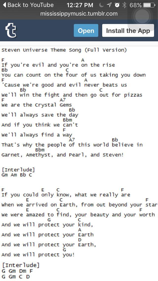 Best 20+ Steven Universe Theme Song ideas on Pinterest | Steven ...