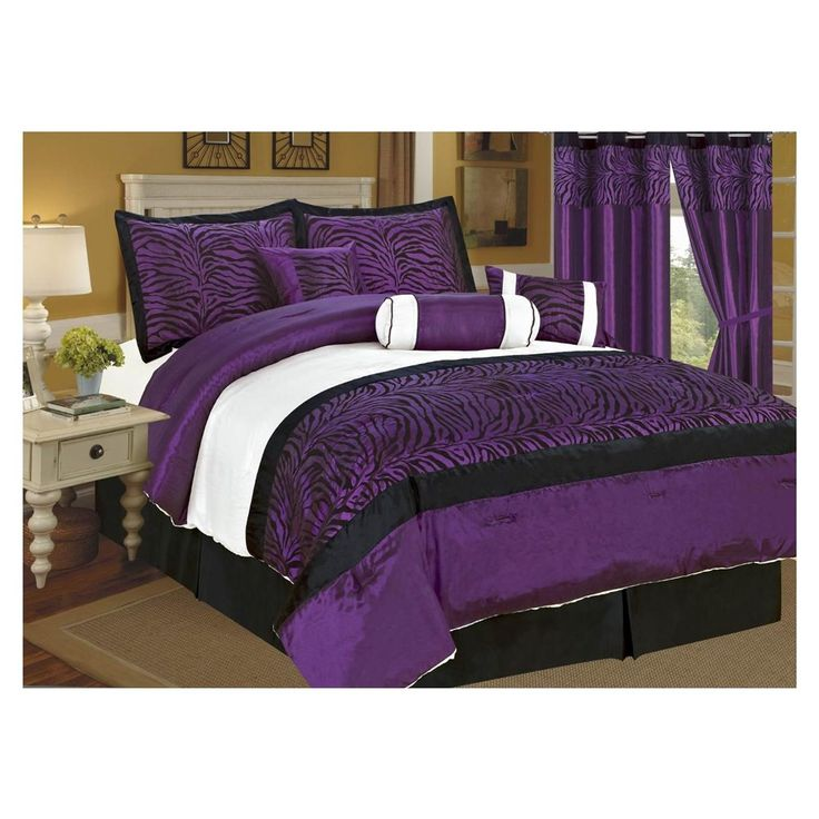 purple bedrooms black white purple bedroom purple king 12971 | 06e413fc34e4301df58be0f12f741172