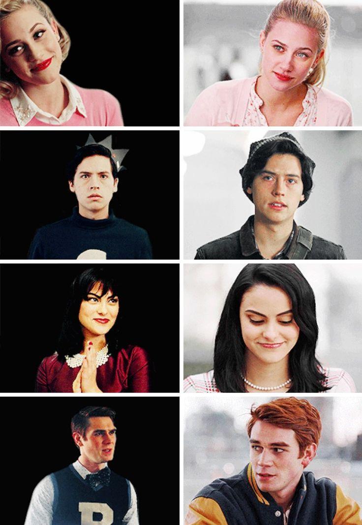 The Main Riverdale Four: Classic vs Modern