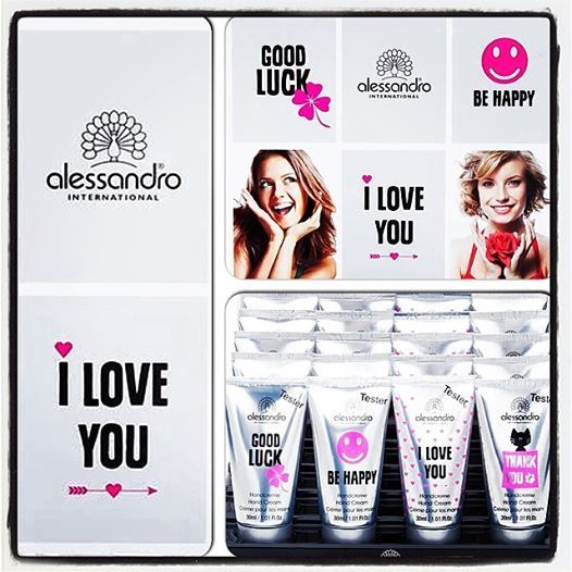 Statement Hand Creams!  #alessandro #alessandrointernational #alessandroGR #statement #handcream