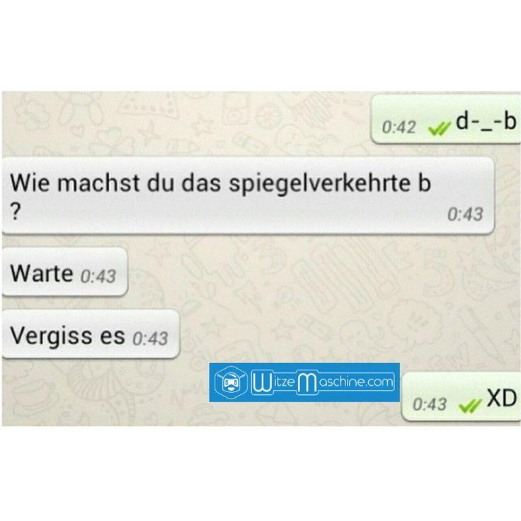Lustige WhatsApp Bilder und Chat Fails 103 - d-.-b - Spiegelverkehrt