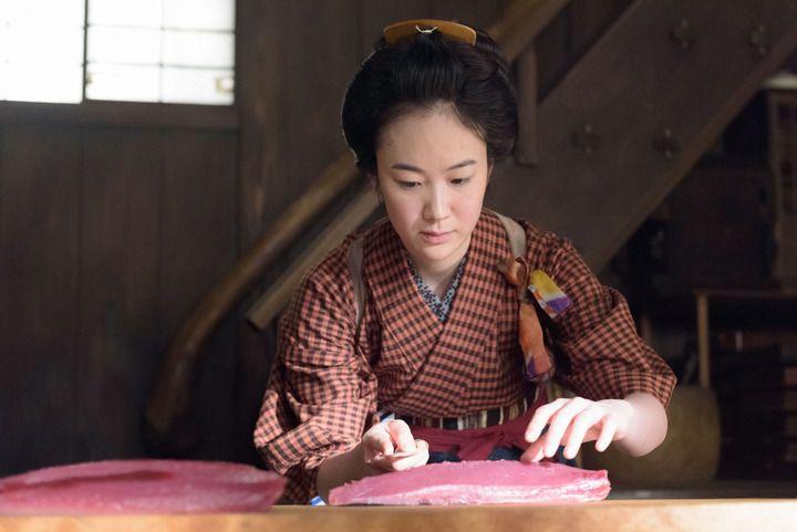 NHKの土曜時代ドラマ「みをつくし料理帖」で主演を務める黒木華さん (C)NHK