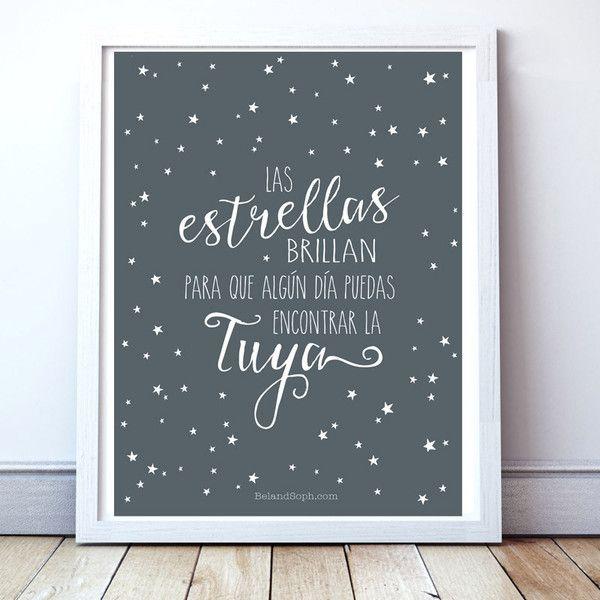"""Lámina """"Las Estrellas Brillan"""""""
