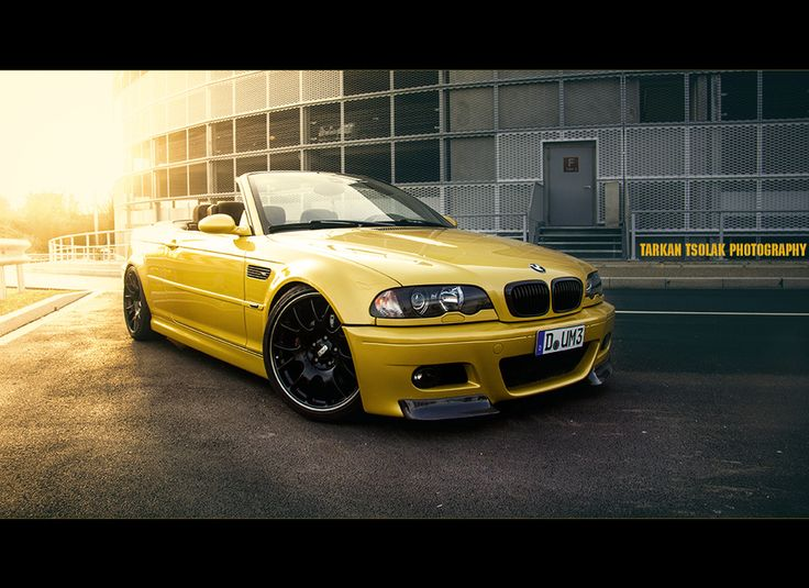 Wonderful Sunset . BMW E46 M3 Cabrio by Tarkan T. on 500px