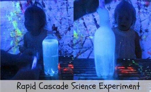 Fun Science for kids- Rapid Cascade experiment: Science Labs, Mad Science, Science Experiments, Science Experimental, Science Exploring, Cascade Experimental, Jewels Rose, Fun Science, Science Fun