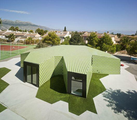 Edifício Administrativo / CRYSTALZOO (La Nucía, Alicante, Espanha) #architecture