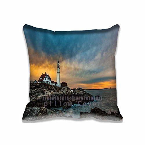 Lighthouses are enchanting, magical and nostalgic which is  why people like getting lighthouse memorabilia as gifts. Furthermore, there are so many types of gifts  for lighthouse lovers from lighthouse bedding, lighthouse throw blankets,  lighthouse kitchenware and other Lighthouse home décor accent      Custom Portland Head Light Lighthouse Throw Pillow Cases Gift - Modern United States and Maine Cushion