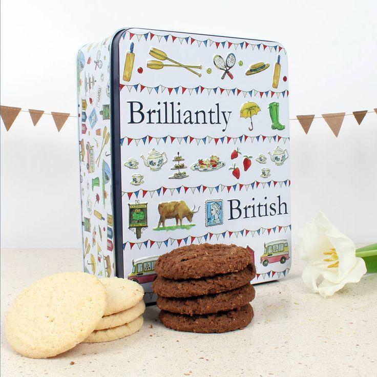 Brilliantly British Biscuit Tin
