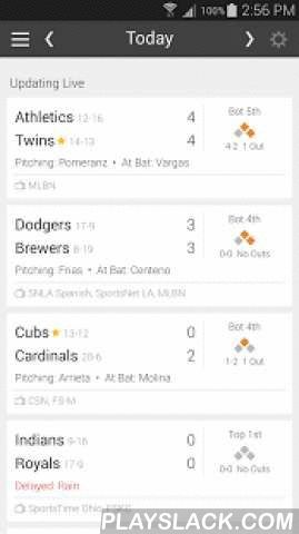 Baseball MLB Schedule 2016  Android App - playslack.com ,  Quickly check live scores, game updates, and the full MLB baseball schedule! Tired of cluttered sports apps? Want to check the scores and see when your team is playing? Look no further!* MLB Scores & game statuses update LIVE! Stay on top of your teams when on the go.* Customize the schedule the way you want: filter by teams, division, or conference.* What's that channel? Local & national TV listings for all games included…