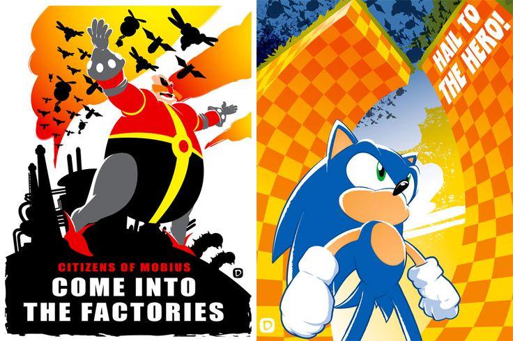 Sonic prints 2012 by *handtoeye on deviantART