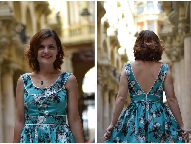 Piping dress details