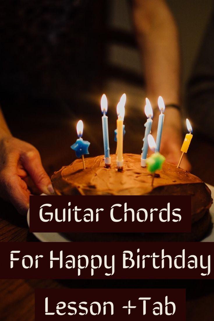 Guitar chords for happy birthdaylesson in g tab