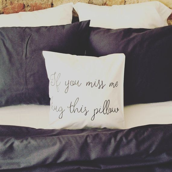 Long distance relationship Pillow Boyfriend by CreativePillowLV