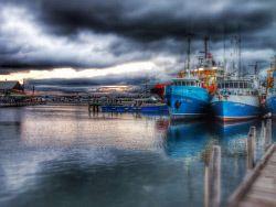 FEA-0007244 © WestPix Fishing boat harbour Fremantle WA. Picture: Shaun Fearn