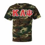 Kappas love this $19.95 Kappa Alpha Psi Lettered Camouflage Tee