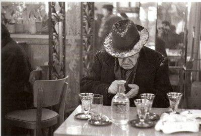 Louis Stettner, Soir de Noel, ile Saint Louis, 1951