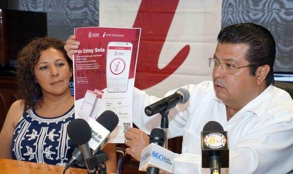 <p>Juárez, Chih.- El Gobierno Municipal, a través del Instituto Municipal de las Mujeres, diseñó una aplicación para que
