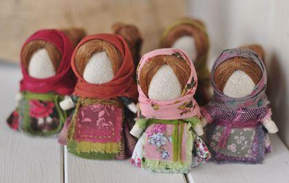 """Народные куклы ручной работы. Ярмарка Мастеров - ручная работа Куколки на счастье """"Веснянки"""".. Handmade."""