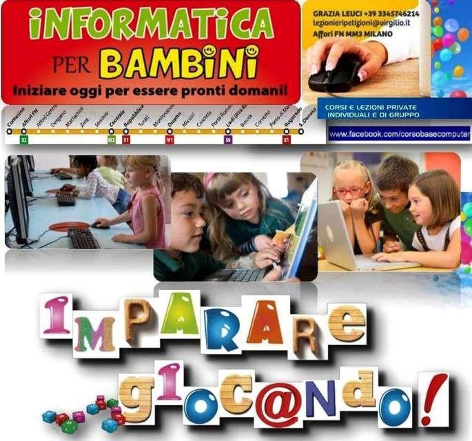 Lezioni di informatica per bambini