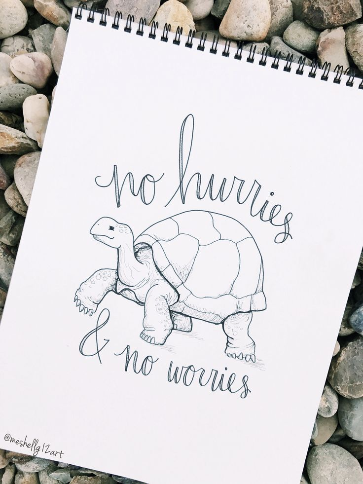 no hurries & no worries // ig: @meshellg12art // pinterest: @meshellg12