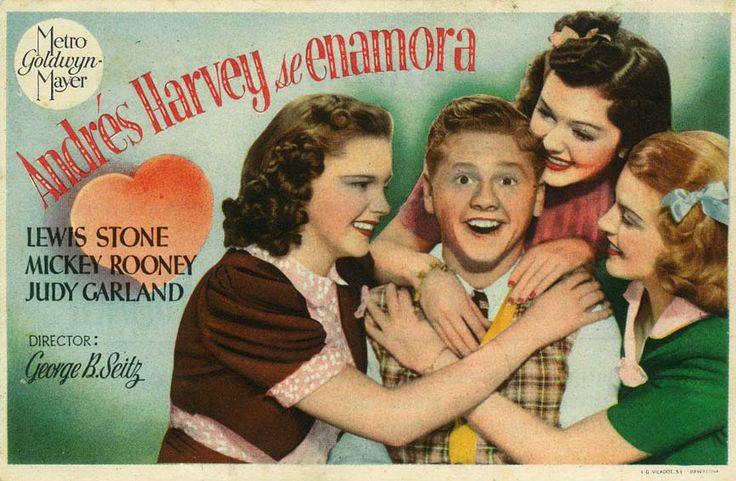 "Andrés Harvey se enamora (1938) ""Love Finds Andy Hardy"" de George B. Seitz - tt0030386"