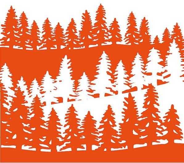 Marianne Design Embossing Folder - Forest (DF3430)