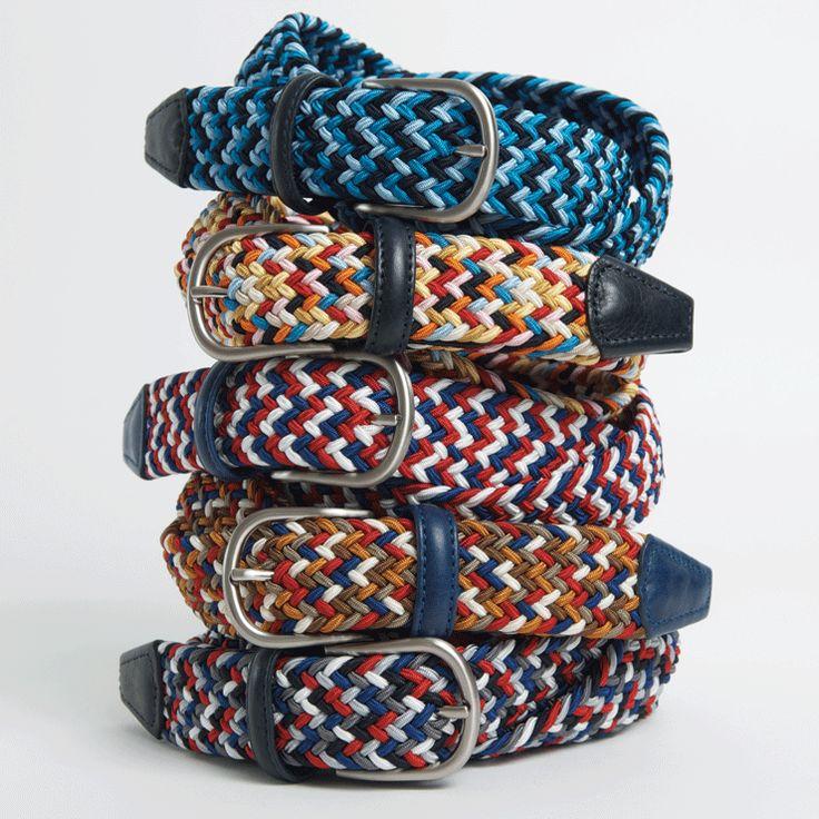 Anderson woven belts #mensfashion #fashion #style