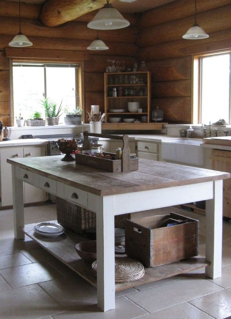 8 Features Every Log Home Should Have (Incredible Kitchen too)