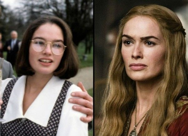 Lena Headey (Cersei Lannister) - The 'Game of Thrones' Cast Then and Now - Zimbio