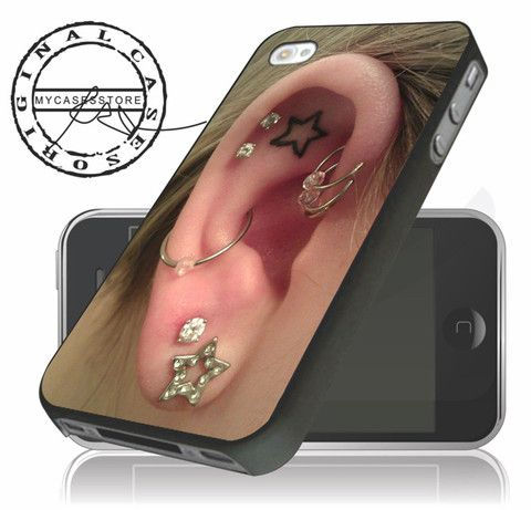 Piercings on Ear,Unique iPhone 4/5/5c/6 Plus Case, Samsung Galaxy S3 S4 S5 Note 3 4 Case, iPod 4 5 Case, HtC One M7 M8 and Nexus Case - $13.90 listing at http://www.mycasesstore.com/collections/fashion/products/piercings-on-ear-unique-iphone-4-5-5c-6-plus-case-samsung-galaxy-s3-s4-s5-note-3-4-case-ipod-4-5-case-htc-one-m7-m8-and-nexus-case