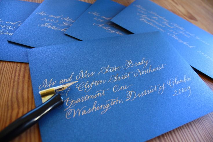 "As a wedding calligrapher, I think a lot about names. As a feminist, I also  think a lot about names and the meaning that they convey. Particularly, I  find the ""traditional"" way of addressing envelopes a bit, shall we say,  dated. I've been gratified that many of my clients feel the same way and  have instead been moving toward a new, 21st-century model of addressing  wedding guests.   The Old Way: Patriarchal Etiquette  The traditional standard for addressing envelopes follows the…"