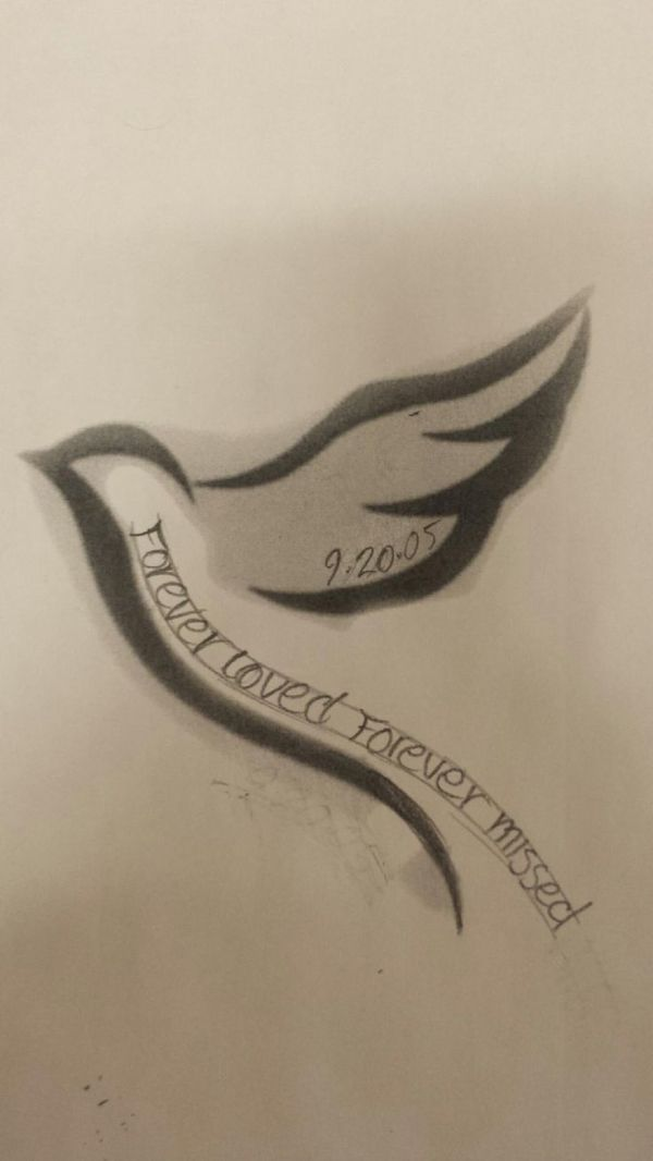 Memorial tattoo for my grandpa Armstrong! by janis
