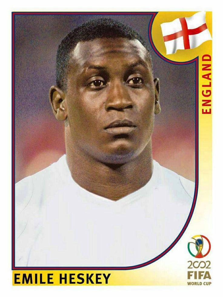 434 Emile Heskey - England - FIFA World Cup Korea/Japan 2002