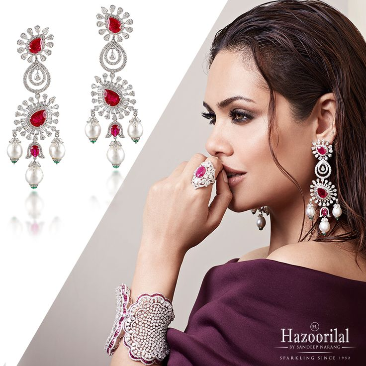 #RedHotRubies- Ignite the passion within this festive season. #HazoorilalBySandeepNarang #Hazoorilal #EveryPieceAMasterpiece #Rubies #Diamonds #FineJewellery #ItcMaurya #DlfEmporio #HazoorilalJewellers