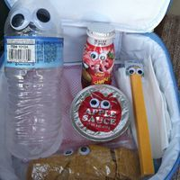 Lunch box idea for April Fool's Day