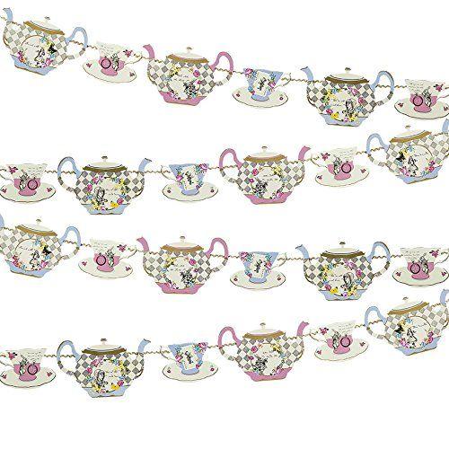 Talking Tables 22 x 23.5 x 1 cm 4 m Truly Alice Decorative Teapot Party Bunting, Multi-Colour Talking Tables http://www.amazon.co.uk/dp/B01ALSRSB4/ref=cm_sw_r_pi_dp_-4G1wb0XFK0RP