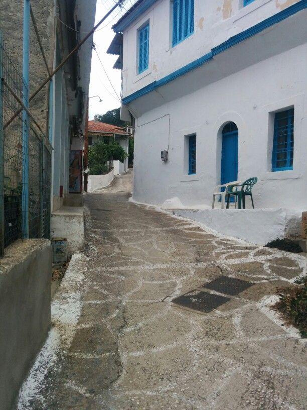 Kalaratchi, Thassos, Greece.
