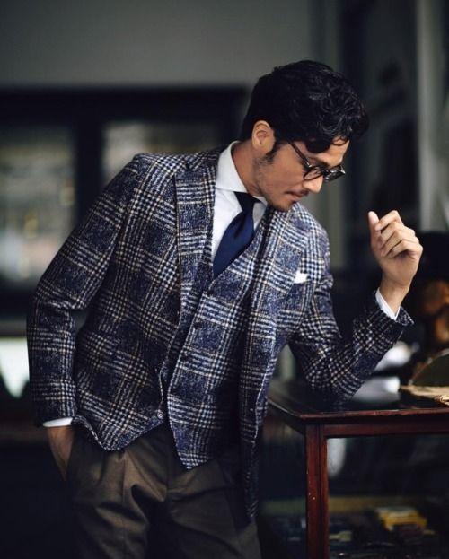 Source: mensclub.jp source More menswear & suits!