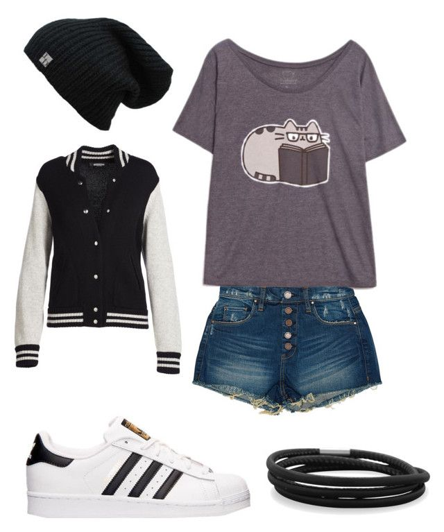 """""""Casual date"""" by madi-martinez on Polyvore featuring BLANKNYC, Pusheen, adidas, Marc Jacobs and BillyTheTree"""