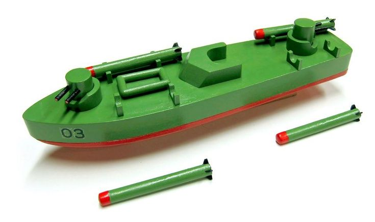 Handmade Wooden Toy, PT Boat is Part of  Aircraft Carrier Play Set, Top Gun Aircraft Carrier, Airplane, Jet, Fighter, Tomcat, Helicoptor #odinstoyfactoy #handmade #woodentoys #ships #carrier #aircraft #airplane #tomcat #fighter #helicopter