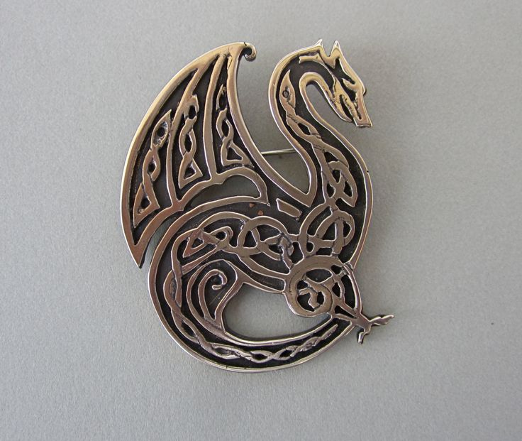 Celtic Knotwork Dragon by MasterArks on Etsy, $45.00