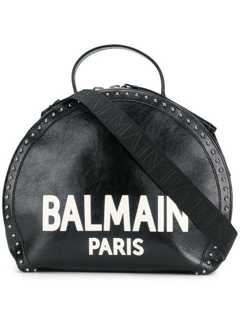 099e9f9d10 Balmain Paris logo studded tote bag | Fall 2018 Trends in 2019 ...