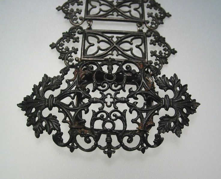 Berlin Iron jewellery, the beautiful and elegant dark Gothic aesthetic