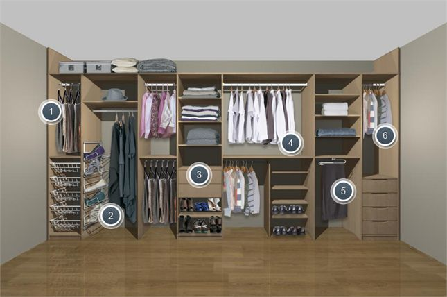 1000 images about slide wardrobe ideas on pinterest for His and hers wardrobe