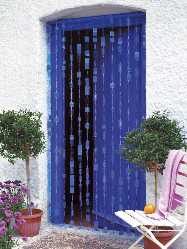 Una #cortina de exterior. Esta idea es perfecta para dar a tu casa un toque #mediterráneo